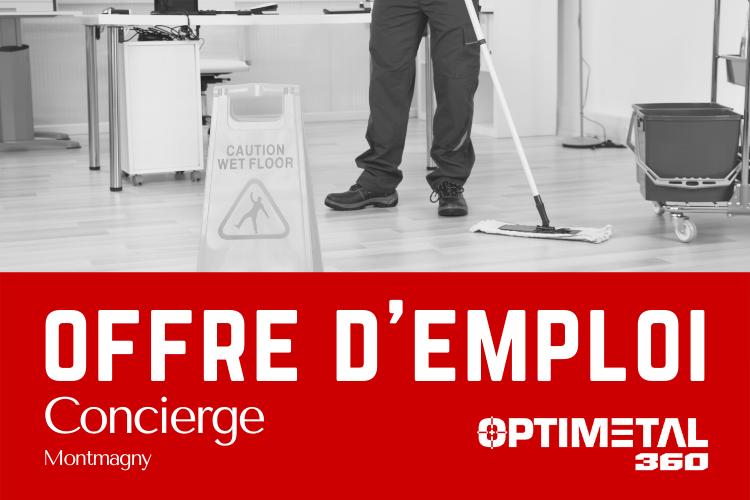 Offre d'emploi : Concierge – 28 février 2021